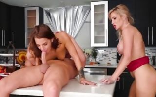 Magnificent horny whore Blake Morgan has cruel sex