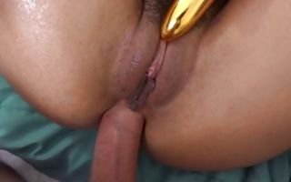 Sexy Aaliyah Hadid takes rod in delicious ass hole